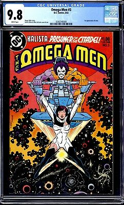 Omega Men #3 Cgc 9.8 White Pages 1St Appearance Of Lobo