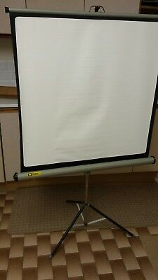 Vintage JOHNSONS of HENDON LUXOR Projector Screen in original box
