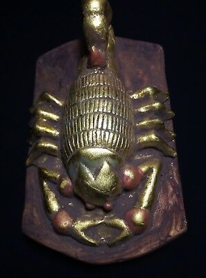 BEAUTIFUL ANCIENT EGYPTIAN ANTIQUE Egypt Gold Scarab Carved Stone 1445-1210 Bc
