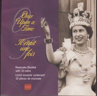 2002 CANADA  ONCE UPON A TIME w/ 10 Golden Jubilee 50¢ Coins SEALED NEW