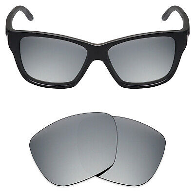 Mryok Anti-Scratch Polarized Replacement Lens for-Oakley Hold On Sunglass  Silver 81d7b9c63d