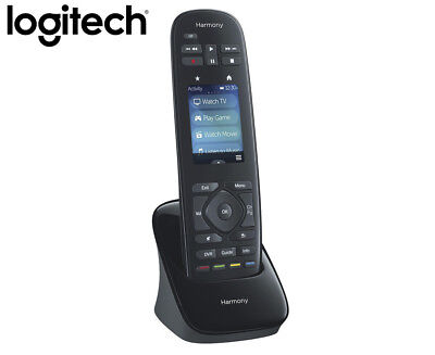 Logitech Harmony Ultimate One Touch Screen IR Remote - Black