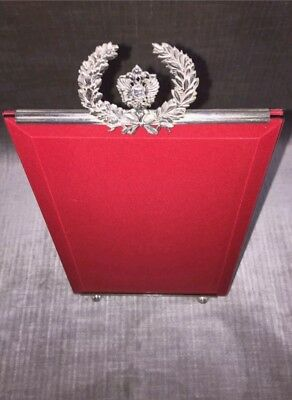 FABERGÉ KФ Design Russian Imperial Sterling Silver Presentation Picture Frame IT