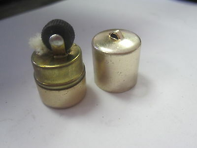One RARE Vintage Canister Can Shaped Tiny Lighter Toy Small Mini Vending Machine