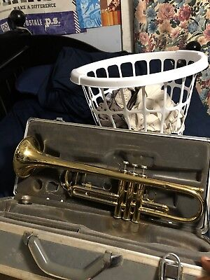 Really Old Trumpet Found! Come look! :)