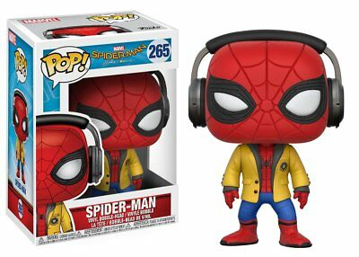 Funko Toys Pop Movies Marvel Spider-Man w/Headphones Homecoming Figure #265