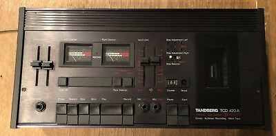 Tandberg TCD-420A Stereo Cassette Deck Player