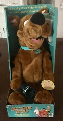 Scooby Doo Mystery Solving Plush Spooky Island - New in Box