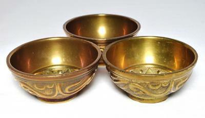 Antique Nepalese/Tibetan Singing Bowl x3 Early 20thC