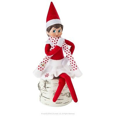 Elf On The Shelf Snowflake Skirt & Scarf Set Outfit Clothes No Doll