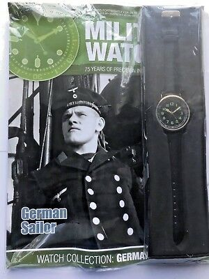 WW2 GERMAN SAILOR 1940,S EAGLEMOSS Military collection ISSUE 72 +MAGAZINE
