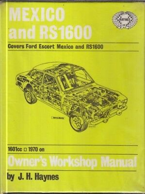 ford escort mk1 mexico & rs1600 (1970-74) owners workshop manual