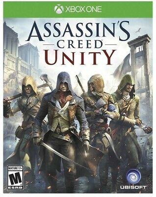 Assassin'S Creed Unity Xbox One Game