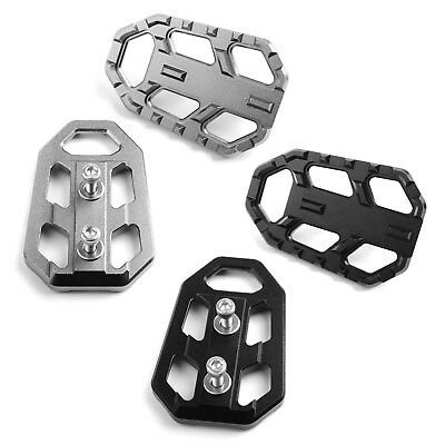 CNC Motorcycle Wide Foot Pegs Pedals Footrests For Kawasaki Versys 650 1000 X300