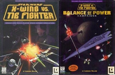 STAR WARS X-WING VS. TIE FIGHTER BALANCE OF POWER Windows 10 8 7 Vista XP