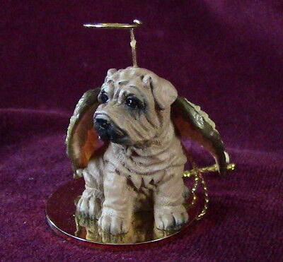 Shar Pei (brown) Angel ~  Proceeds for Red Leash Rescue ~ Excellent Deal!