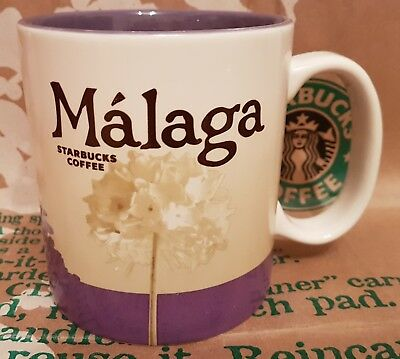 Starbucks Coffee Mug/Tasse/Becher MALAGA/Spain, Global Icon, NEU/unbenutzt/SKU!!