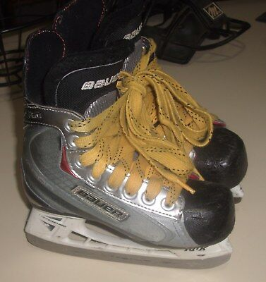 Pre Owned Bauer Vapor X60 Ice Hockey Skates Youth size Y12.5D