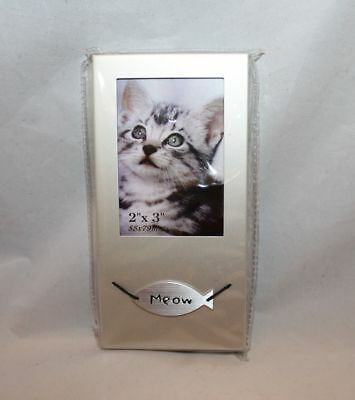 """Picture frame 2"""" x 3"""" Cat Frame"""