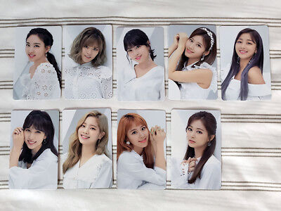 TWICE JAPAN - BDZ repackage - Official Photocards