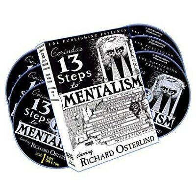 Magic Tricks RICHARD OSTERLIND - 13 STEPS TO MENTALISM (1-6)