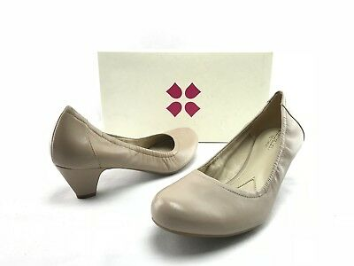 c8475ae8a51 NEW Naturalizer Stargaze Women s Taupe Leather Pump Heels US 7.5 N 9.5 M  B283