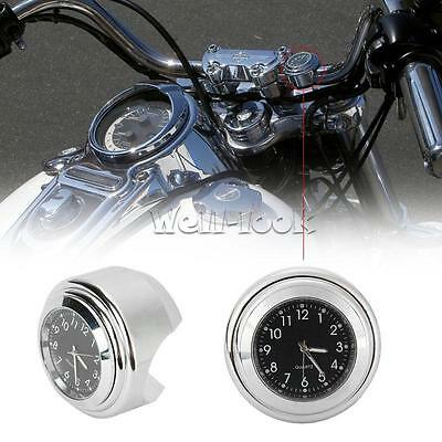 Motorcycle Clock Handlebar for Yamaha Virago XV 250 500 535 700 750 920 1100 XVS