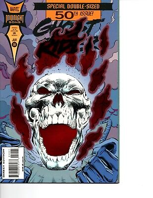 Ghost Rider Vol. 2 # 50, Red Foil Variant Cover, First Printing