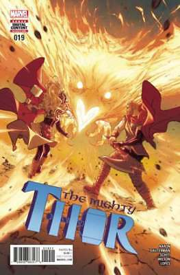 Mighty Thor (2016 series) #19 in Near Mint condition. Marvel comics [*2n]