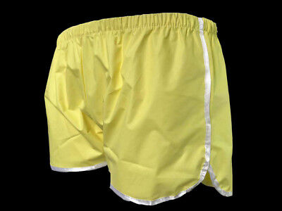 Unise Comfortable shorts with attractive satin ribbon edging. New P018-3