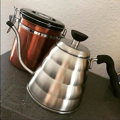 HOMKO Coffee Drip Kettle - Pour Over Tea Kettle Gooseneck Kettle Stovetop... NEW