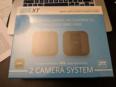 Blink XT 2 Camera Home Security System Wireless Outdoor FAST SHIPPING & NO TAX