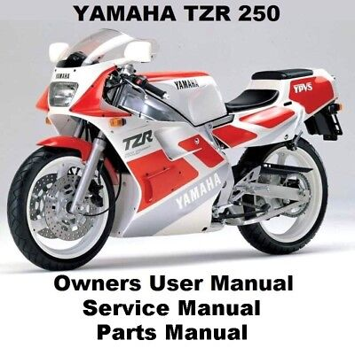 YAMAHA TZR250 - Owners Service Repair Workshop Manual PDF on CD-R 1987 1990 1988