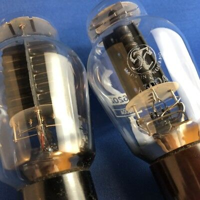STC 4300A tube (Western Electric 300B UK edition) a matched pair; rare