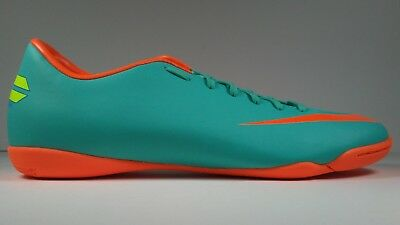 new style ee14b 05773 Nike Hommes Rare Mercurial Victory Lll Ic 509133-486 Orange Chaussures  Football