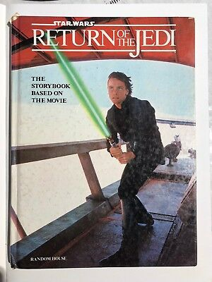 Star Wars: Return Of The Jedi - HARDCOVER Storybook based on the movie