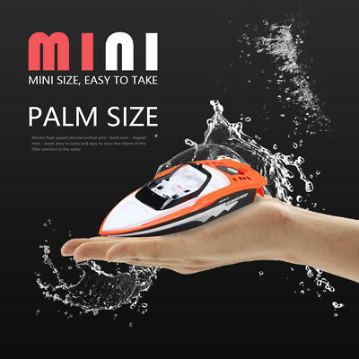 sale Portable Mini RC High Speed Racing Boat Remote Control Speedboat Toy