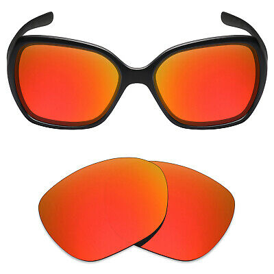 a6733d4ae39 Mryok Anti-Scratch Polarized Replacement Lens for-Oakley Overtime Sunglass  Fire