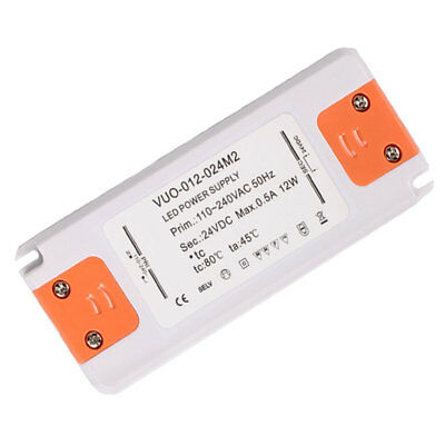MINI 12W 0.5 A 24V Waterproof Constant Voltage LED Power Supply Transformer