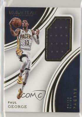 2014 Panini Immaculate Collection #57 Paul George Indiana Pacers Basketball Card Basketbal Verzamelingen