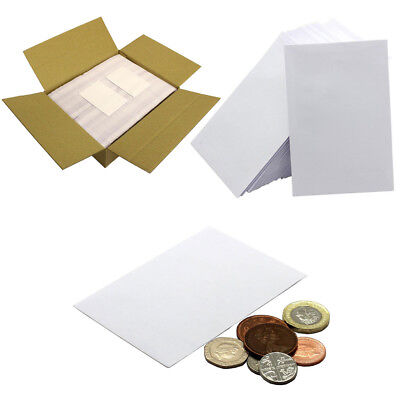 SMALL WHITE ENVELOPES 80gsm • 98 x 67mm • Dinner Money Wages Coin Beads & Seeds