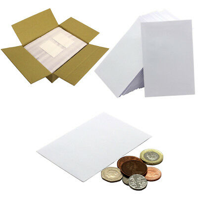 Small White 80gsm Envelopes 98 x 67mm for Dinner Money Wages Coin Beads & Seeds