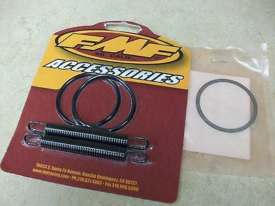 New FMF Pipe Springs Exhaust Gaskets + OEM Washer For Honda CR250 CR 250 250R