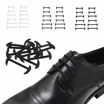 12 Pcs Shoes Laces No Tie Adult Kids Shoelaces Rubber Silicone Slip Easy Sneaker
