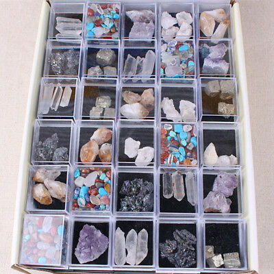 1Box Natural Rough Stones Raw Rose Quartz Crystal Mineral Rocks Collection Lots