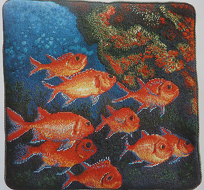 Tapestry Chart - Shoal of Squirrel Fish in the Sea from Jill Gordon
