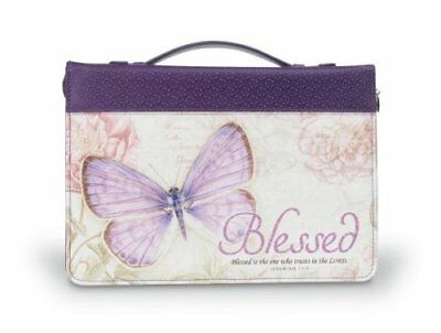 Blessed, Butterfly Bible Cover, Large
