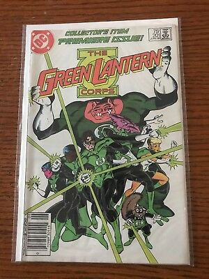 Green Lantern #201 Newsstand Variant Hard To Find VF Corps 1st Kilwog
