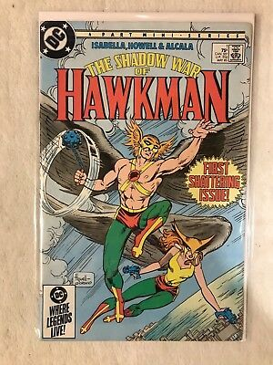 The Shadow of War Hawkman #1 DC Comics VF-