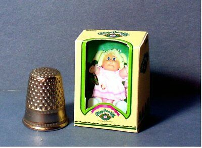 Dollhouse Miniature 1:12 Cabbage Patch Kid Girl Doll Box  dollhouse girl nursery